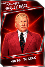 Support Card: Manager - HarleyRace - Survivor