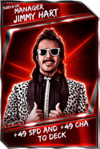 Support Card: Manager - JimmyHart - Survivor