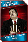 Support Card: Manager - PaulBearer - Rare