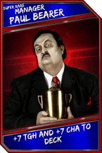 Support Card: Manager - PaulBearer - SuperRare