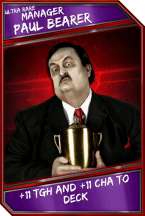 Support Card: Manager - PaulBearer - UltraRare