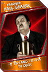 Support Card: Manager - PaulBearer - Epic