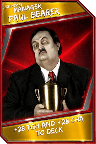 Support Card: Manager - PaulBearer - Legendary