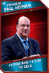 Support Card: Manager - PaulHeyman - Rare