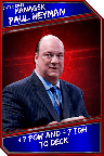 Support Card: Manager - PaulHeyman - SuperRare