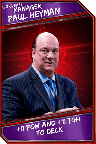 Support Card: Manager - PaulHeyman - UltraRare