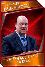 Support Card: Manager - PaulHeyman - Epic