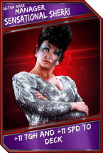 Support Card: Manager - SensationalSherri - UltraRare