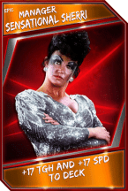 Support Card: Manager - SensationalSherri - Epic