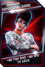Support Card: Manager - SensationalSherri - WrestleMania