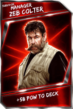 Support Card: Manager - ZebColter - Survivor