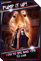 Support Card: PumpItUp - WrestleMania