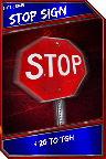 Support Card: StopSign - SuperRare