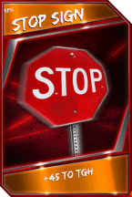 Support Card: StopSign - Epic