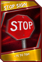 Support Card: StopSign - Legendary