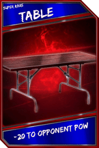 Support Card: Table - SuperRare