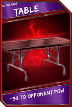Support Card: Table - UltraRare