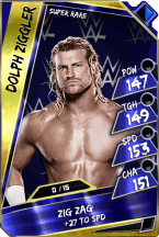 Dolph Ziggler - Super Rare (Loyalty) (PCC)