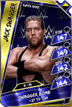 Jack Swagger - Super Rare (Loyalty)