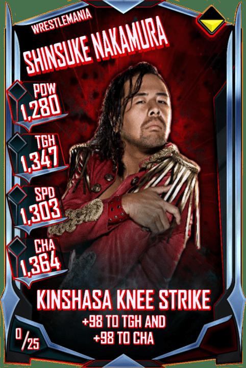 Shinsuke Nakamura Wwe Supercard Season 2 Debut Wwe Supercard