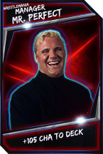 Support Card: Manager - MrPerfect - WrestleMania