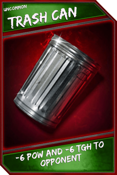Support Card: TrashCan - Uncommon