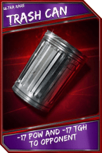 Support Card: TrashCan - UltraRare