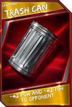 Support Card: TrashCan - Legendary