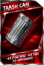 Support Card: TrashCan - Survivor