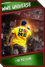 Support Card: WWEUniverse - Uncommon