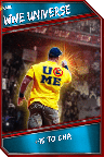 Support Card: WWEUniverse - Rare