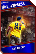 Support Card: WWEUniverse - SuperRare