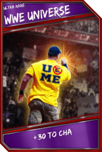 Support Card: WWEUniverse - UltraRare