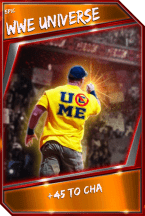 Support Card: WWEUniverse - Epic
