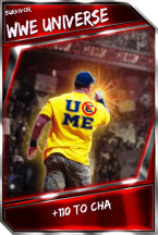 Support Card: WWEUniverse - Survivor