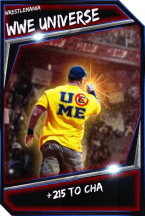 Support Card: WWEUniverse - WrestleMania