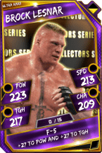 Brock Lesnar - Ultra Rare (Collectors Series)