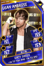 Dean Ambrose - Super Rare (Collectors Series)