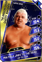 Dusty Rhodes - Super Rare (Loyalty)