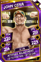 John Cena- Ultra Rare (Collectors Series)