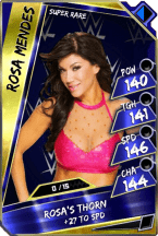 Rosa Mendes - Super Rare (Loyalty)
