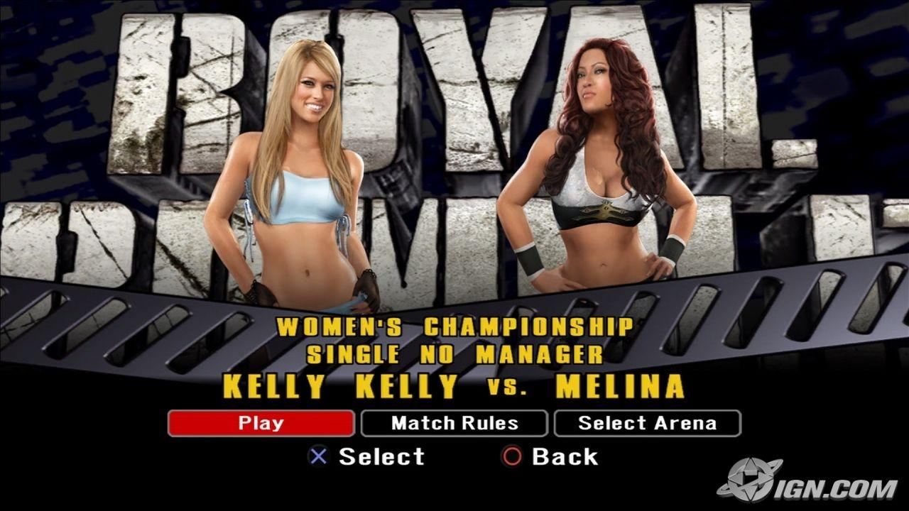 Kelly Kelly Wwe Smackdown Vs Raw 2008 Roster