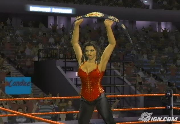 Candice Michelle WWE SmackDown Vs Raw 2008 Roster