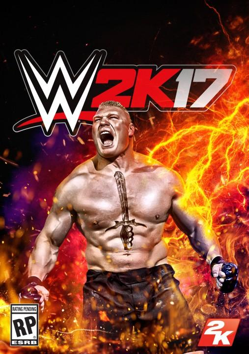 WWE 2K17: Official Cover Art (Agnostic)