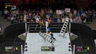 WWE 2K17 - Ladder Match Gameplay - AJ Styles