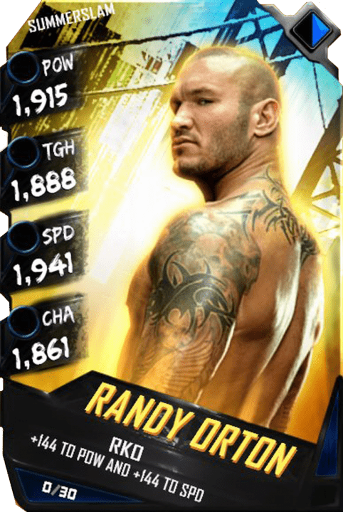 Randy Orton Wwe Supercard Season 1 Debut Wwe