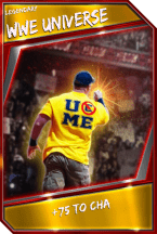 Support Card: WWEUniverse - Legendary