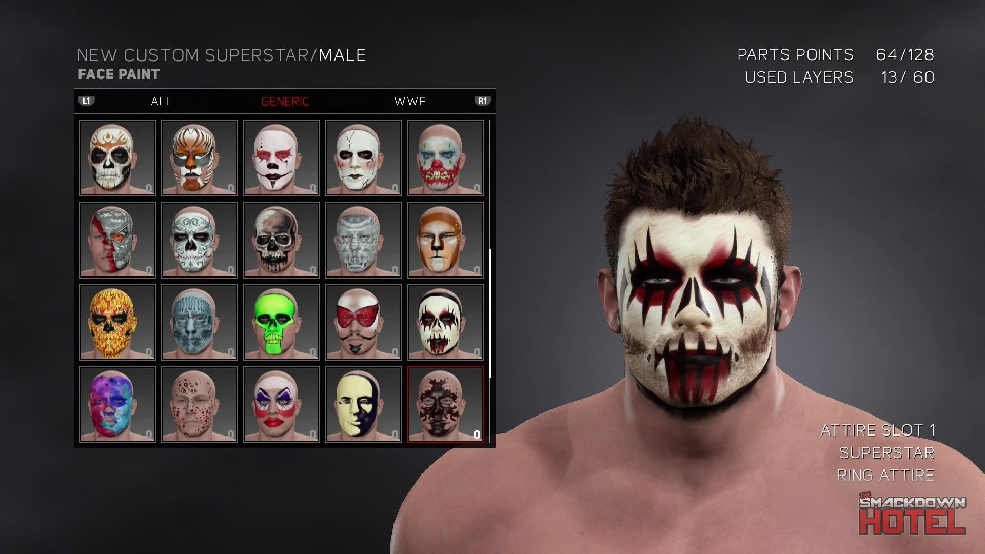 Wwe 2k17 100 Create A Superstar Slots Confirmed Caws Wwe 2k17