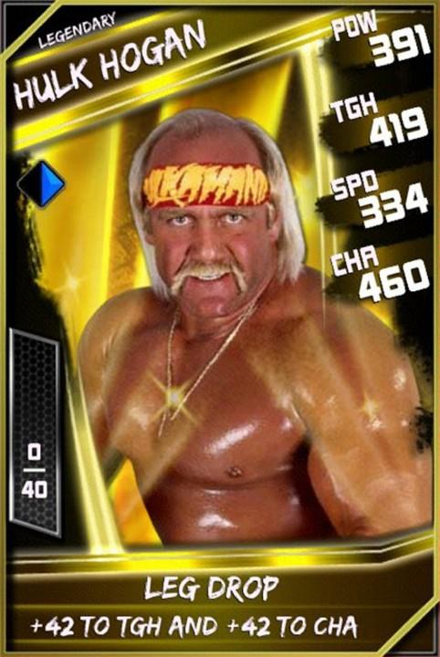 Hulk Hogan - WWE SuperCard (Season 1 Debut) - WWE SuperCard