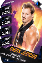 SuperCard-ChrisJericho-R10-SummerSlam-RingDom